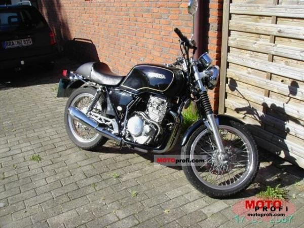 1992 Honda GB500 Clubman (reduced effect)