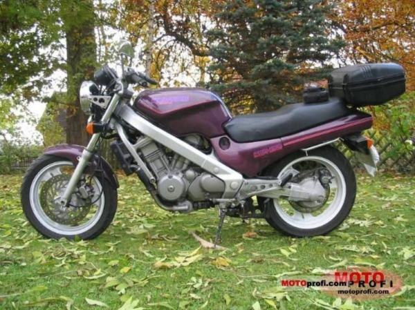 Honda NTV650 Revere (reduced effect)