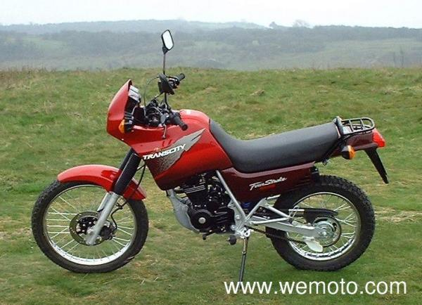 1999 Honda NX125 Trans City