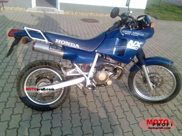 1989 Honda NX250 (reduced effect)