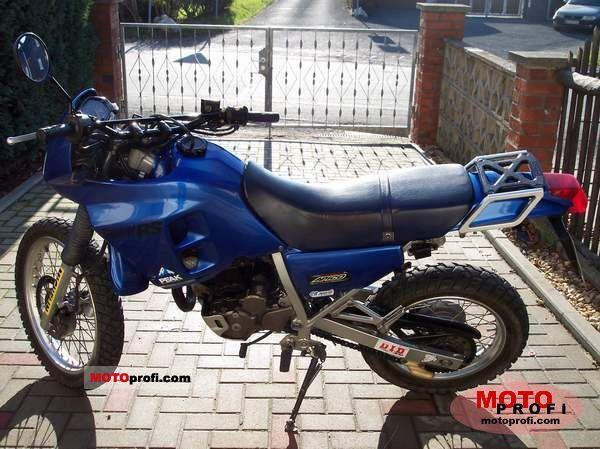 1991 Honda NX250 (reduced effect)