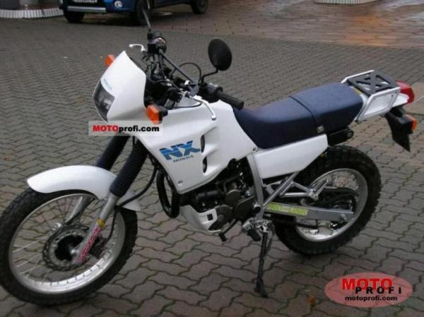 1992 Honda NX250 (reduced effect)
