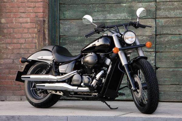 Honda Shadow 750 Black Spirit