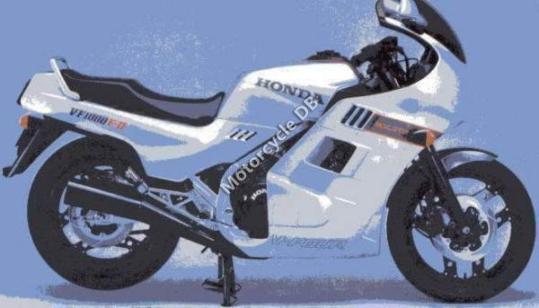 Honda VF1000F (reduced effect)