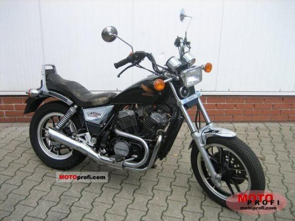 Honda VT500C (reduced effect)