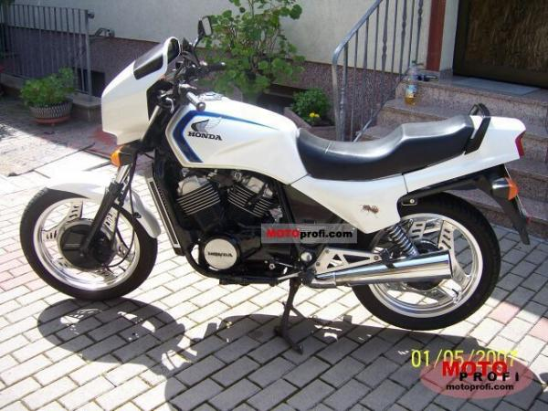 1987 Honda VT500C (reduced effect)