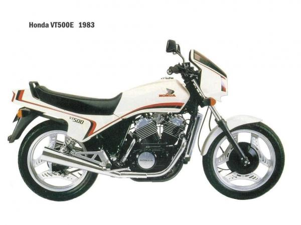 1987 Honda VT500E (reduced effect)