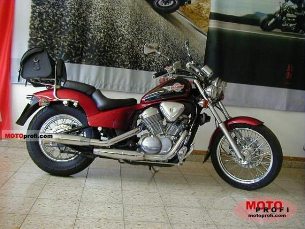 1989 Honda VT600C (reduced effect)