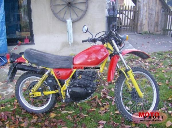 1986 Honda XL250R (reduced effect)