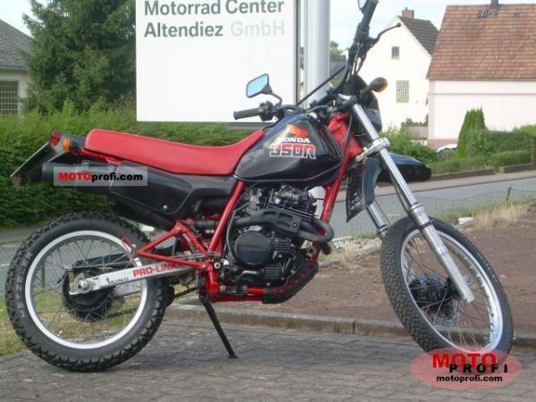 Honda XL350R (reduced effect)