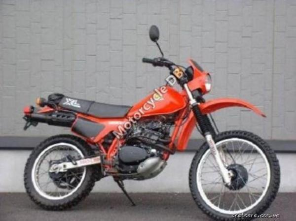 1986 Honda XL350R (reduced effect)