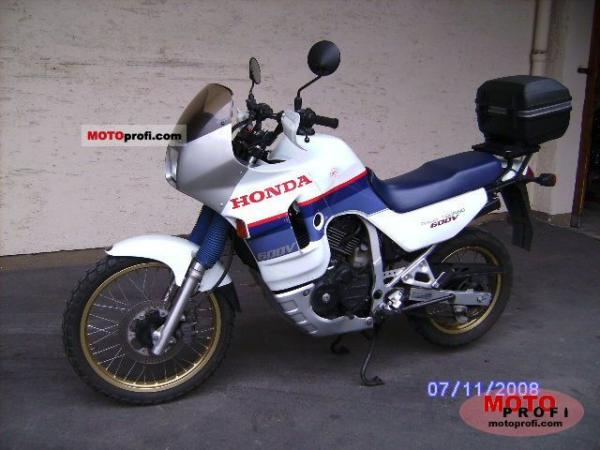 1990 Honda XL600V Transalp (reduced effect)