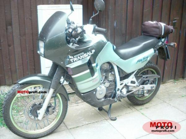 1992 Honda XL600V Transalp (reduced effect)