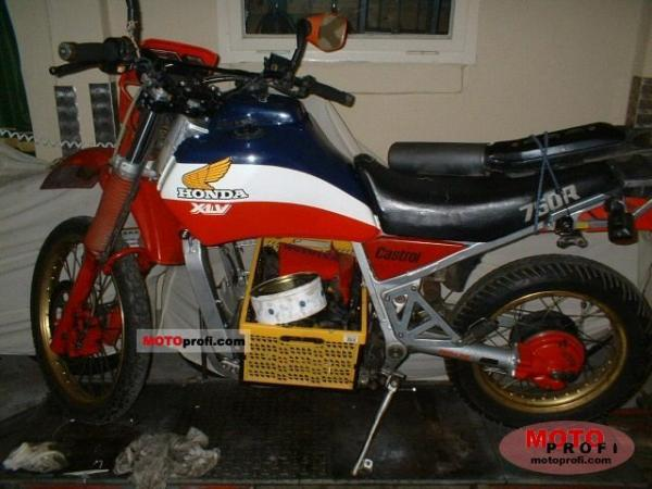 1984 Honda XLV750R (reduced effect)