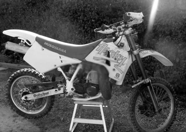 Husqvarna 610 TE (reduced effect)