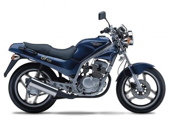 Hyosung GF 125 Speed #1