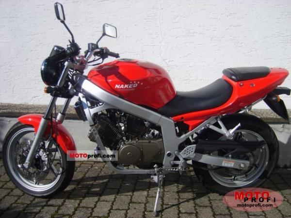 2007 Hyosung GT 125 Naked / GT125 Comet