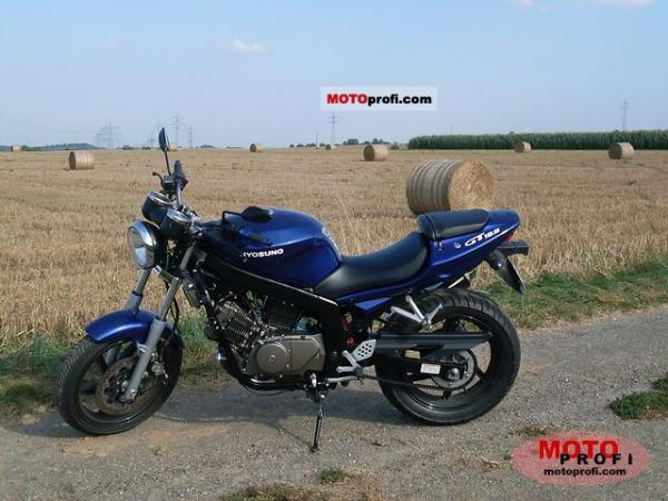 Hyosung GT 125 Naked / GT125 Comet