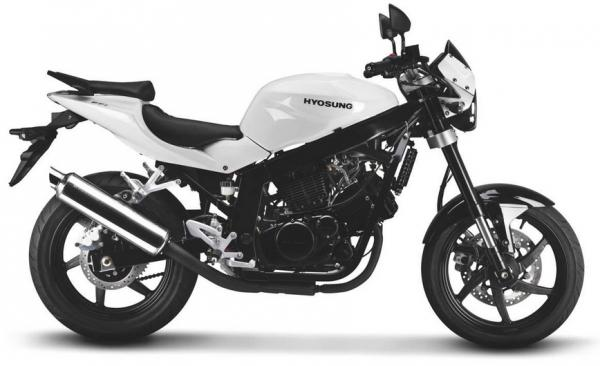 2007 Hyosung GT 250 Naked / GT 250 Comet