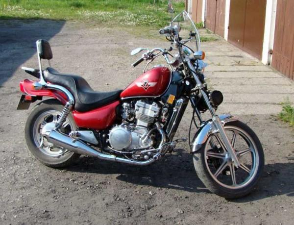 1990 Kawasaki EN500 (reduced effect)
