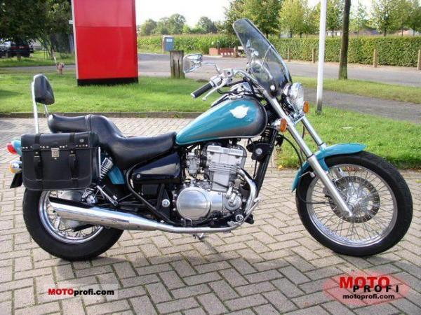 1992 Kawasaki EN500 (reduced effect)