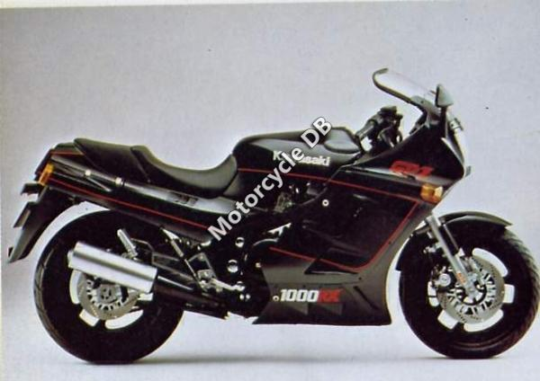 1986 Kawasaki GPZ1000RX (reduced effect)
