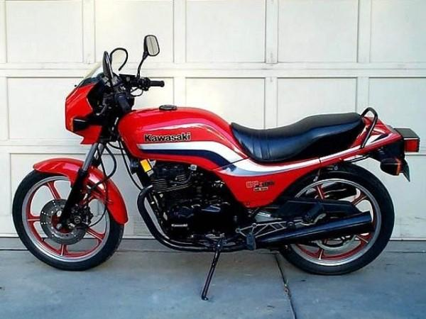 1986 Kawasaki GPZ305 Belt Drive (reduced effect)