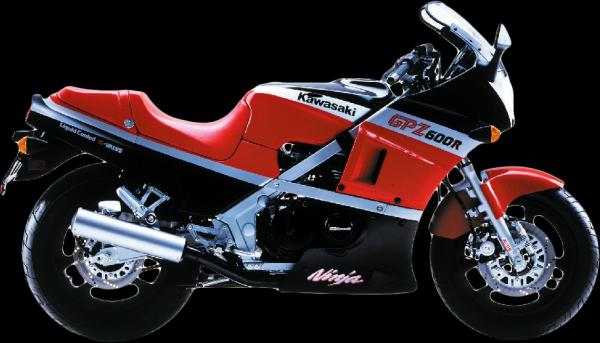 1985 Kawasaki GPZ400 (reduced effect)