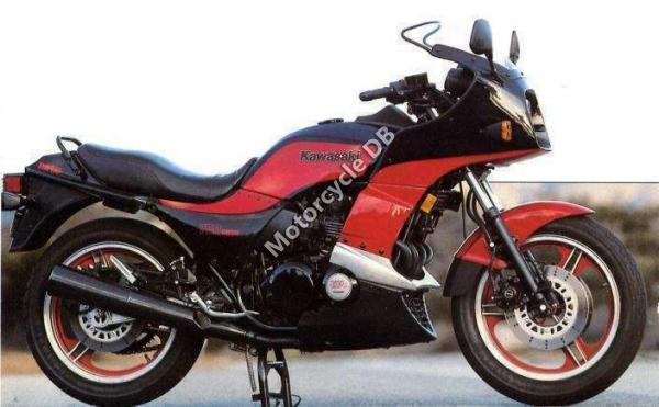 1991 Kawasaki GPZ500S (reduced effect)