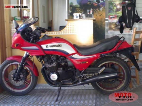 1986 Kawasaki GPZ550 (reduced effect)