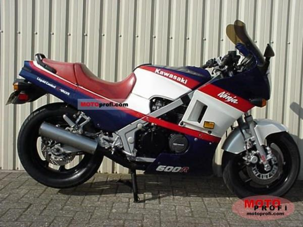 1986 Kawasaki GPZ600R (reduced effect)