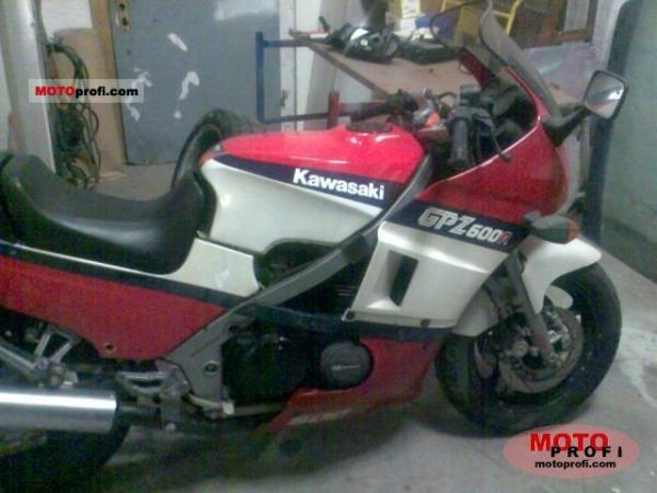 1987 Kawasaki GPZ600R (reduced effect)