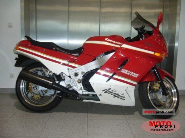 1992 Kawasaki GPZ900R (reduced effect)
