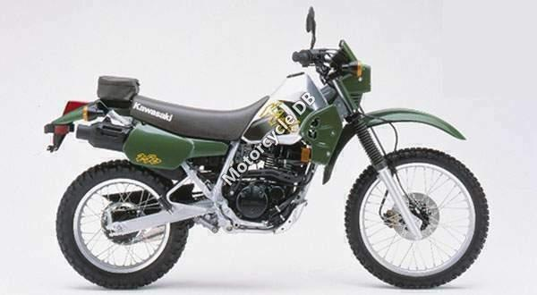 1990 Kawasaki KLR250 (reduced effect)