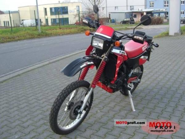 1989 Kawasaki KLR600E (reduced effect)