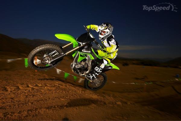 2010 Kawasaki KX250F Monster Energy