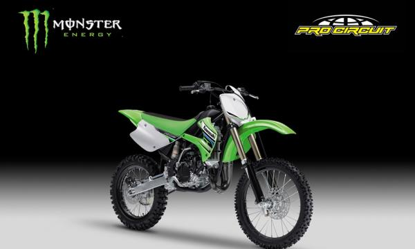 2012 Kawasaki KX85-I Monster Energy