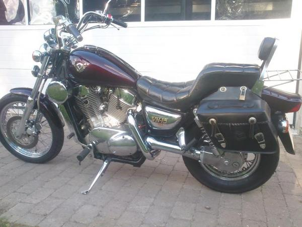 1989 Kawasaki VN-15SE (reduced effect)