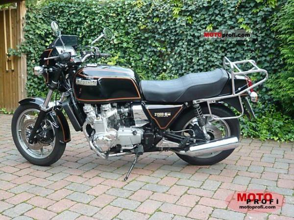 1984 Kawasaki Z1300 DFI (reduced effect)