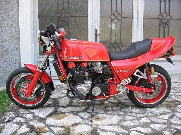 1989 Kawasaki Z1300 DFI (reduced effect)