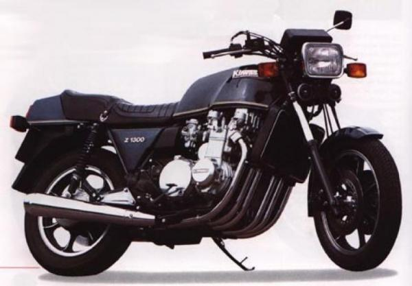 Kawasaki Z1300 (reduced effect)