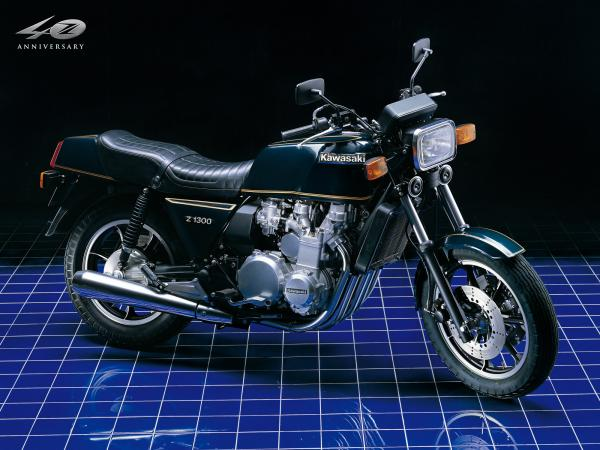 1982 Kawasaki Z1300 (reduced effect)
