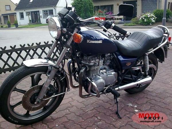 1982 Kawasaki Z440 LTD Belt Drive