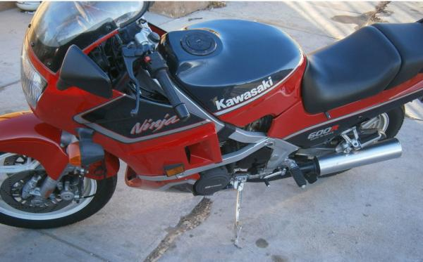 1987 Kawasaki Z450 LTD (reduced effect)