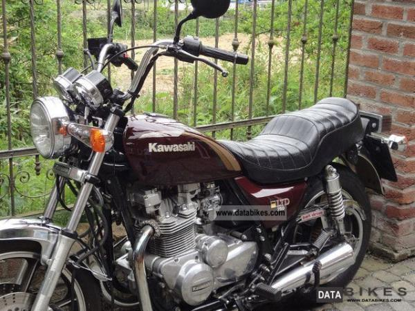 Kawasaki Z750 LTD Belt Drive