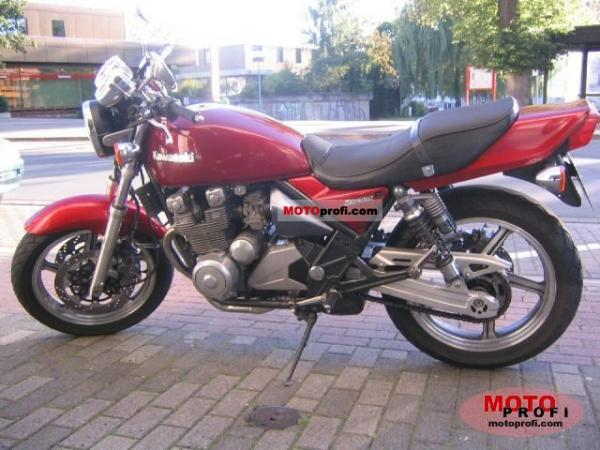 1992 Kawasaki Zephyr 550 (reduced effect)
