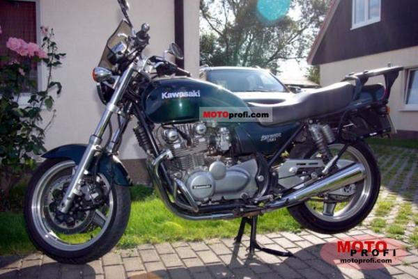 1992 Kawasaki Zephyr 750 (reduced effect)