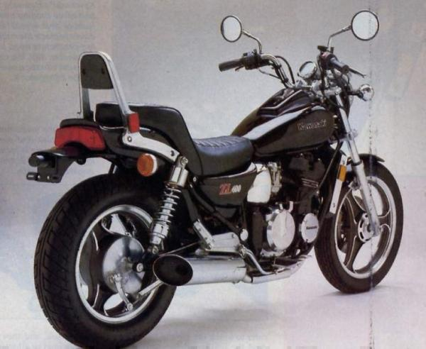 1988 Kawasaki ZL600 (reduced effect)