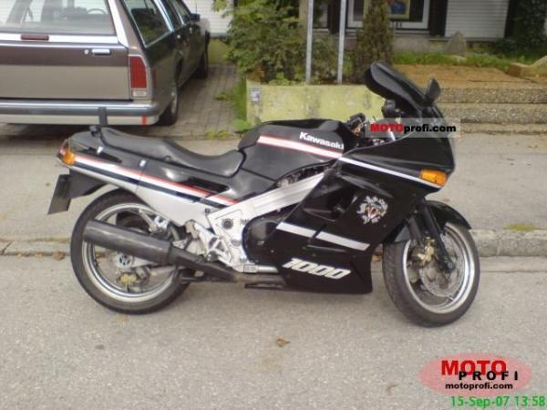 1989 Kawasaki ZX-10 (reduced effect)