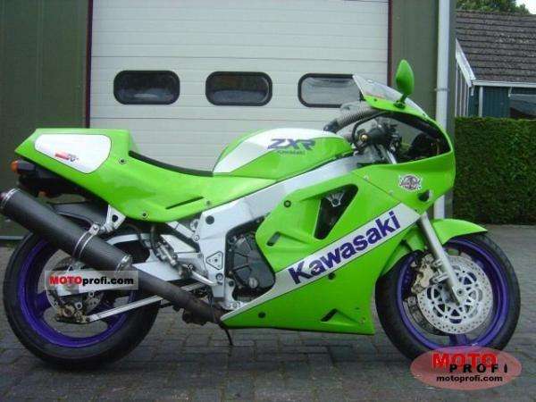 1989 Kawasaki ZXR750 (reduced effect)